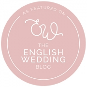 Featured in the English Wedding Blog
