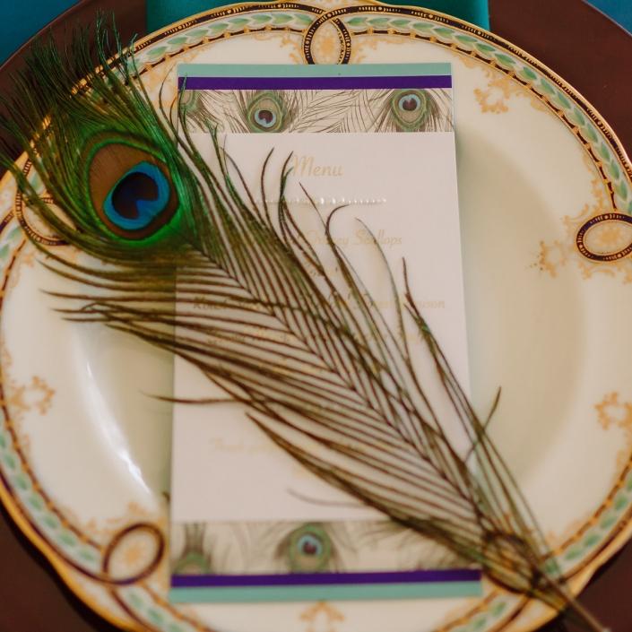 Vintage plate hire