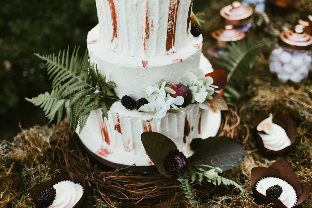 Woodland Cake by Ever After Wedding Cakes