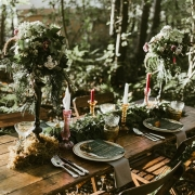 Rustic wooden tables for Kent weddings