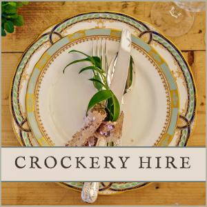 Vintage Crockery Hire for Weddings in Sussex