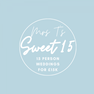 Sweet 15 micro wedding package