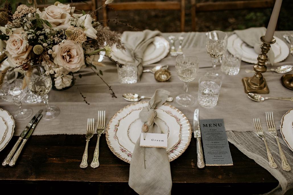 wedding tableware hire